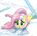 Comic issue 3 Fluttershy skiing outfit