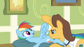 Doctor examines Rainbow Dash's wing S2E16.png