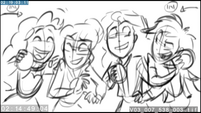 EG3 animatic - Twilight and Sunset surrounded by friends