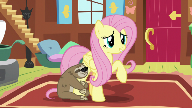 "File:Fluttershy ""other ponies may be experts"" S7E5.png"