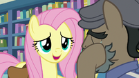 "Fluttershy ""want to talk about what happened?"" S9E21"
