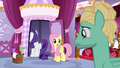 Fluttershy wishing Zephyr good luck S6E11.png