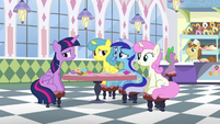 Minuette -it might've stung a little bit when you ran off to Ponyville- S5E12