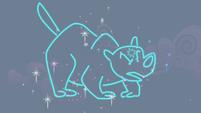 Neon depiction of ursa -major- S1E06
