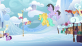 Pegasi flying through Cloudsdale S7E14.png