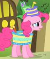 Pinkie Pie cake costume S1E25