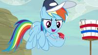 """Rainbow Dash """"on your marks"""" S9E6"""