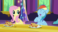 Rainbow Dash -hanging out with me is awesome- S5E3