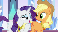 "Rarity ""that was a cakewalk"" S9E1"
