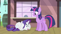Rarity cowering down S4E13