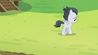 Rumble starts walking away alone S7E21