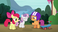 Scootaloo --be extra-special clear with her-- S6E19