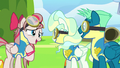 Sky and Vapor are Angel Wings' new favorite ponies S6E24.png
