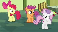 "Sweetie Belle ""good plan, Apple Bloom!"" S8E12"