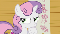 Sweetie Belle thinking to herself S8E12