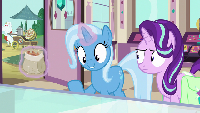 "File:Trixie ""might have been thinking about"" S7E2.png"