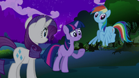 Twilight Rainbow Dash Rarity S2E21