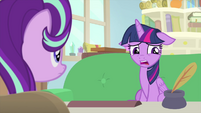 "Twilight Sparkle ""when I was a filly"" MLPS4"