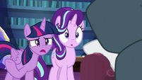 Twilight Sparkle -are you sure that's what happened-- S7E19