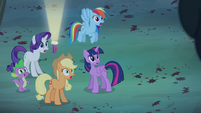 Twilight and friends in shock S4E07