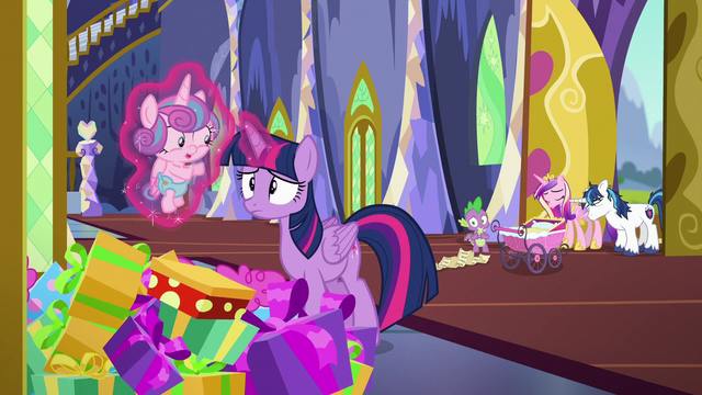 File:Twilight picks up Flurry out of present pile S7E3.png
