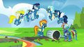 Wonderbolts reciting rule number one S6E7.png