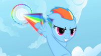 710px-Rainbow Dash performing Sonic Rainboom S01E16