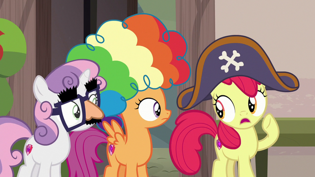 "File:Apple Bloom ""my brother's super shy"" S7E8.png"