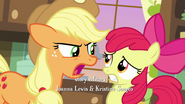 """File:Applejack """"there is a long-standing feud"""" S7E13.png"""