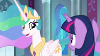 "Celestia ""be part of any plays myself"" S8E7"