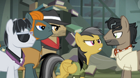 Daring Do talking to Caballeron S4E04