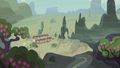 Distance view of Our Town S6E25.png