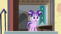 Filly Starlight with her mouth open S5E26