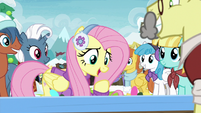 "Fluttershy ""wouldn't wanna miss out on that"" MLPBGE"
