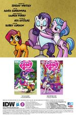 Friends Forever issue 13 credits page
