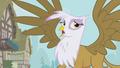 Gilda mocking Fluttershy S1E05.png
