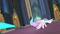 Magic beaming towards Princess Celestia S4E2