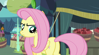 Pegasus Angel looks back at Fluttershy S9E18