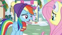 "Rainbow Dash ""riiiiight..."" MLPBGE"