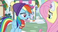 """Rainbow Dash """"riiiiight..."""" MLPBGE"""