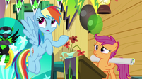 Rainbow Dash -sure it sounds weird- S8E20