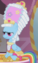 Rainbow Dash frilly outfit ID S1E10