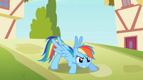 Rainbow Dash striking a pose S2E08