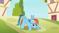 Rainbow Dash striking a pose S2E08