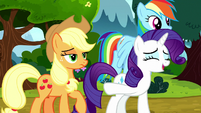 "Rarity ""she did say that!"" S8E18"