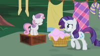 Rarity -You know how hard- S2E05