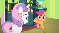 Scootaloo -come back and check on you- S4E17