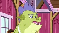 Sludge sighing with annoyance S8E24