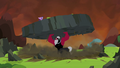 Tirek lifts a piece of the earth S4E26.png