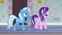 """Trixie """"we're striding with determination"""" S9E20"""